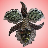 RARE Nolan Miller's Mythical Orchid Pin
