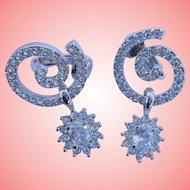 Nolan Miller's Pave Indulgence Swirl Clip Earrings