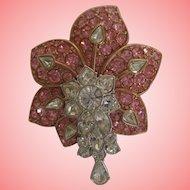 Nolan Miller's Pink Orchid with Dancing Stamen Pin
