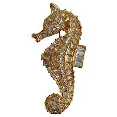 Nolan Miller's Seahorse Pin