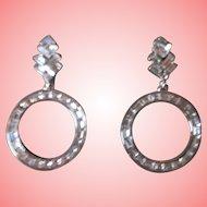 Nolan Miller's Social Circle Baguette Pierced Earrings
