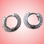 Nolan Miller's Sweet Sophistication Hoop Pierced Earrings