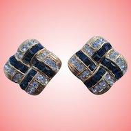 Nolan Miller's Symphony Crystal Clip Earrings