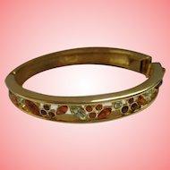 Nolan Miller's Slender Crystal Bangle Bracelet