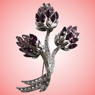 Nolan Miller's Thistle Cluster Pin - A Symbol of Nobility