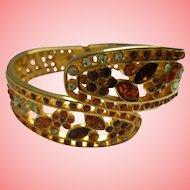 Nolan Miller's Wide Hinged Bangle Bracelet