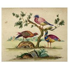 Three watercolors by Emeran Lidl 1928