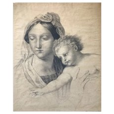 Young Mother with Child