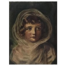 Portrait of a Young Girl 19th century