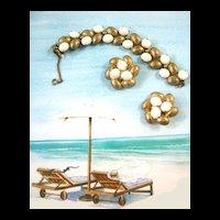 Fabulous Schiaparelli Exquisite Bracelet and Earring Demi