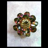 Vintage Multi Colored Vendome Watermelon Brooch