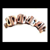 Vintage Mid Century Modern Big chunky Copper Bracelet