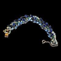 Vintage Juliana 5 Link Bracelet
