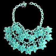 Fabulous 1930s Celluloid Collar Must C