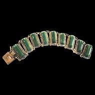 BeautifulMexican Sterling Bracelet Vintage