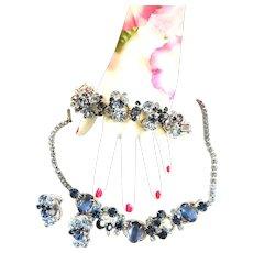 Juliana Vintage Necklace Bracelet Earrings