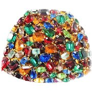 Gorgeous Jewel Encrusted Powder Compact 40s