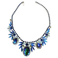 Spectacular Juliana Watermelon Huge Vintage Necklace