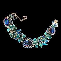 Juliana Watermelon 5 Link Vintage Bracelet
