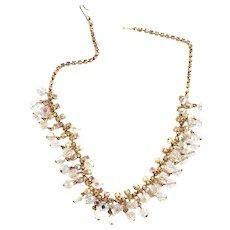 Bling Bling Bling Vintage Crystal Necklace
