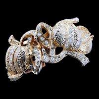 Vintage Hobe Clamper Bracelet