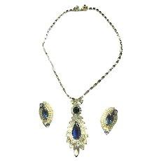 Return to Elegance Vintage Hobe Pendant and Earrings