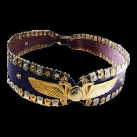 Fabulous Detailed 1970s French Belt