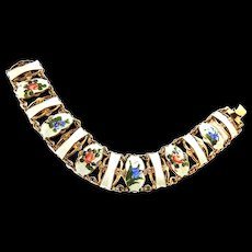 Extraordinary Guillouch Sterling Silver Norway Artist Bracelet