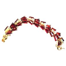 Juliana red Keystone Bracelet