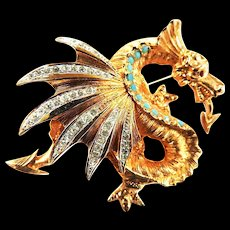 Vintage Schrager Winged Dragon Must C