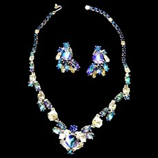 Jaw Dropping Schiaparelli Necklace And Earrings