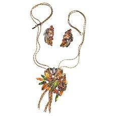 Designer Drop Vintage Necklace