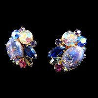 Juliana Easter Egg Clip Earrings