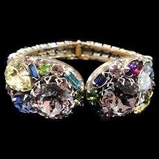 Humongous Majestic Designer Clamper Bracelet 1950s