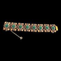 Fabulous Hobe 1940s Bracelet Must C
