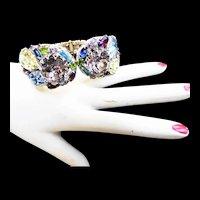 Over the Top Alice Caviness Vintage Massive Clamper Bracelet