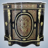 19th Century Napoleon III Salon Boulle Commode Cabinet