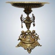 Silver Gild Centerpiece German Of  19 Th Century Height 33,5cm