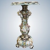 France, Art Nouveau Ceramics Table  end od 19 Th century,