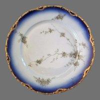 "Rosenthal 19th Century Hand Painted 8"" Dessert/Salad Plates (5 total)"