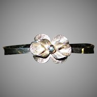 Theresia Hvorslev Sweden Flower Cuff Bracelet Cuff MEMA 1978