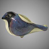 "Bird Whistle 4"" Royal Copenhagen Inge Lise Koefoed Aluminia Vintage 1976-1978 Fajance"