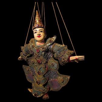 Marionette Thai Burmese Yoke Handmade Puppet