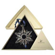 Swarovski Crystal 1998 Christmas Snowflake Limited Edition in Box