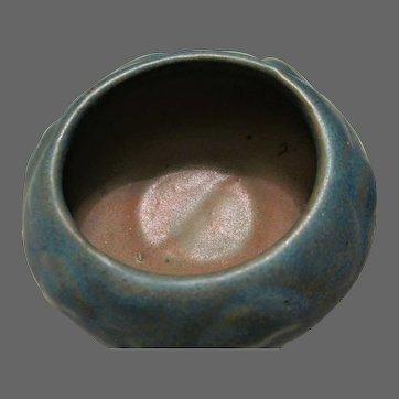 Van Briggle 1920 Trinket Bowl Blue Green Glaze