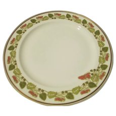(9) Haviland Limoges Sweet Pea Vine Art Nouveau Dinner Plates