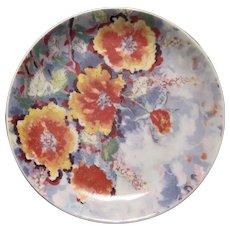 "(6) James Paul Brown Poppies Floral Commemorative Plates 5"""