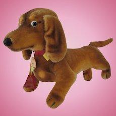 FAO Schwarz Steiff Hexie Dachshund Mohair Dog