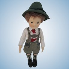 Rare R. John Wright SAMPLE Steiff Mathias Doll