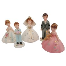 Josef's Originals Wedding Party Cake Toppers Figurines